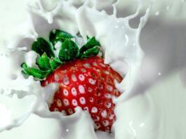 jagoda v mleku
