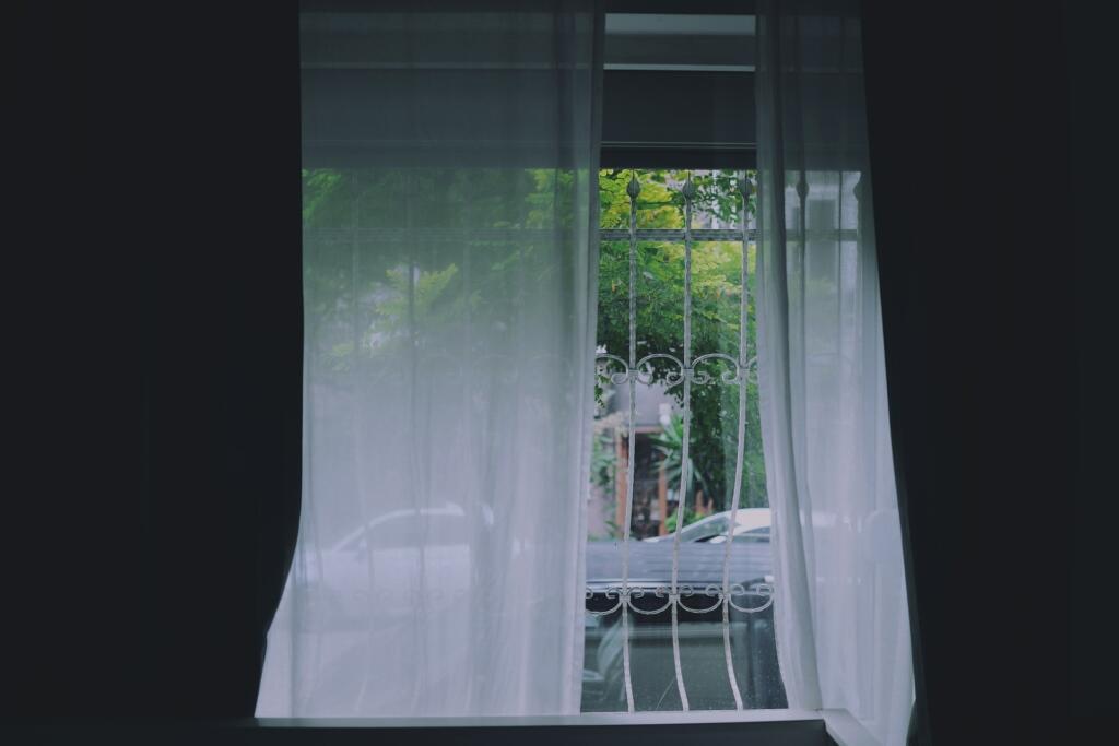 zračenje, odprto okno
