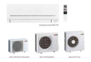 Različne klimatske naprave