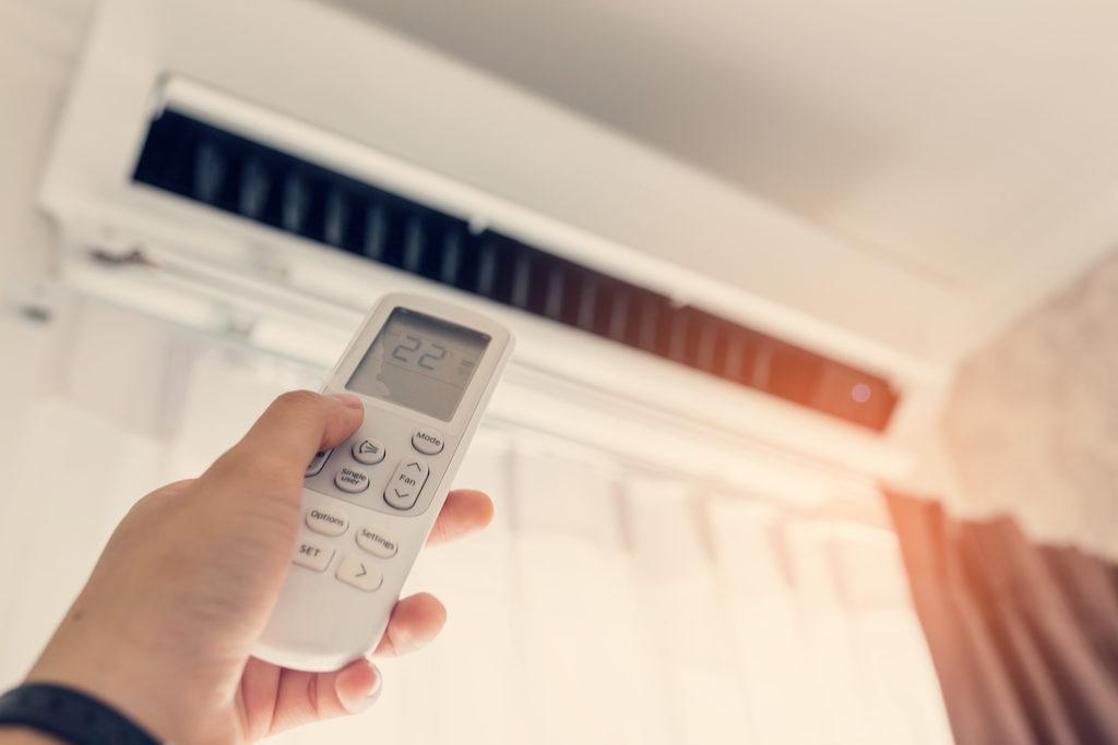 Preprosta uporaba klimatske naprave
