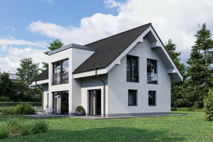 Hiša Maruša je klasična dvokapnica, primerna za skoraj vsa slovenska okolja.
