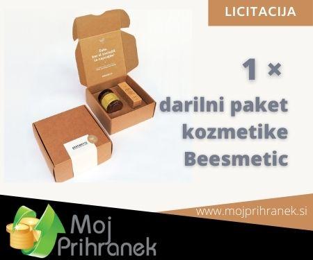 1 × darilni set kozmetike Beesmetic