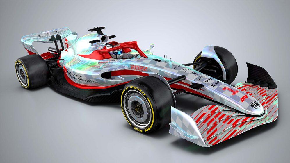 F1 dirkalnik bo dobil novo podobo v sezoni 2022