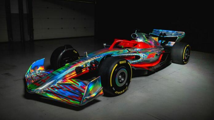 Razkrit je nov dirkalnik Formule 1
