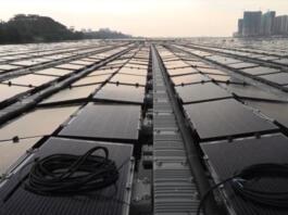 plavajoča sončna elektrarna