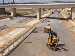 Gradnja papirnatih cest v Španiji