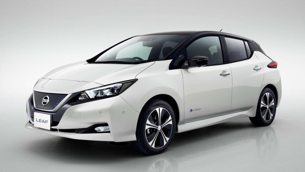 Nissan Leaf E+, ki je bil uporabljen kot primer električnega vozila