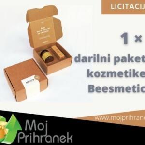 1 x darilni paket kozmetike Beesmetic