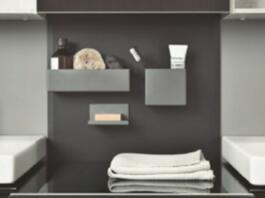 Magnetne škatle različnih velikosti lahko poljubno premikate in vam nudijo prostor za toaletne potrebščine, ki morajo biti stalno na dosegu roke. Lahko jih kombinirate tudi z drugimi kopalniškimi serijami Geberit.