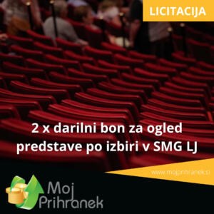 2 x darilni bon za ogled predstave po izbiri v SMG Ljubljana