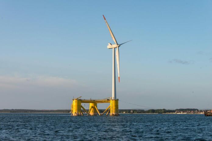 Največja plavajoča elektrarna Kincardine (vir: groupcobra.com)