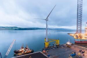 Postavitev plavajoča elektrarne Kincardine (vir: groupcobra.com)