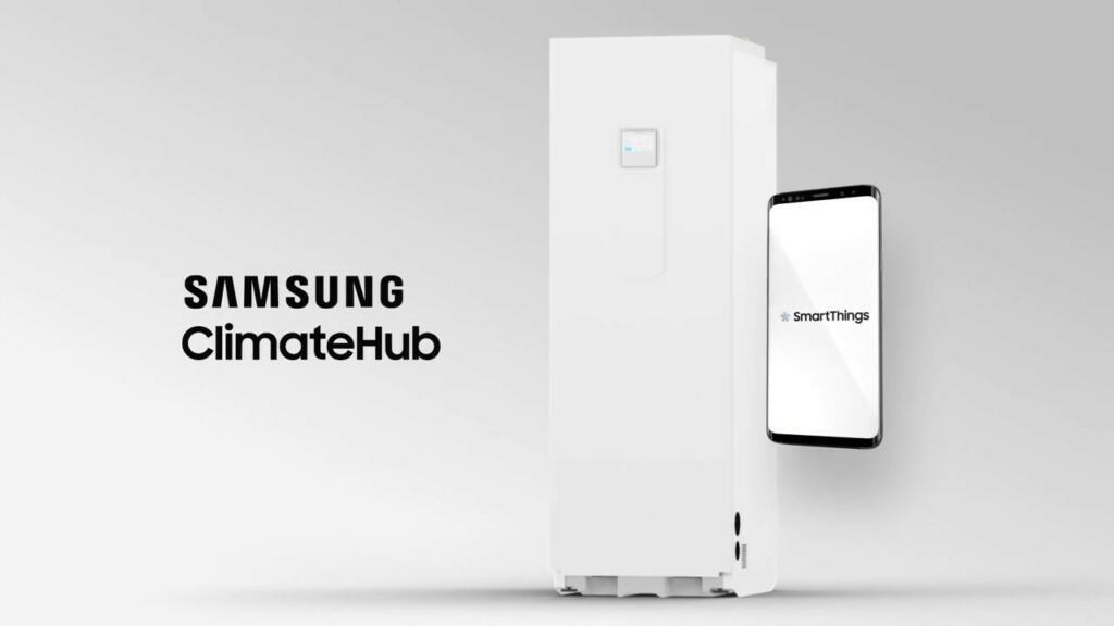 SAMSUNG toplotna črpalka se lahko poveže tudi s pametnim telefonom
