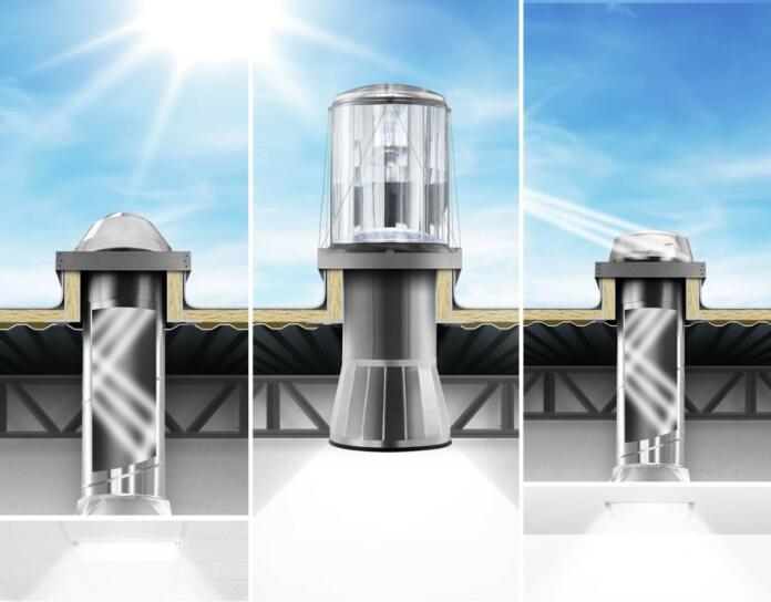 Z energijsko varčnim Solatube hibridnim LED sistemom širimo možnosti uporabe dnevne osvetlitve