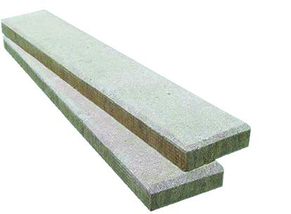 1.Izolacija stropa z negorljivimi izolacijskimi lamelami Knauf Insulation CLT C1,