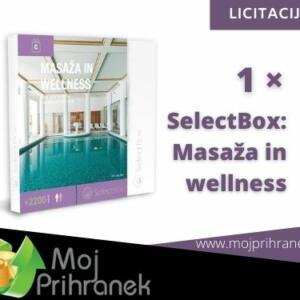 1 x Select Box: Masaža in Wellness
