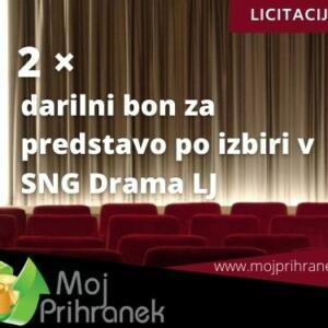 2 x darilni bon za predstavo po izbiri v SNG Drama Ljubljana