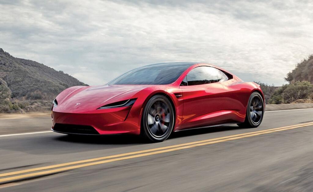 Tesla Roadster je navišje uvrščena Tesla na tem seznamu