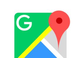 Google maps - ikona aplikacije